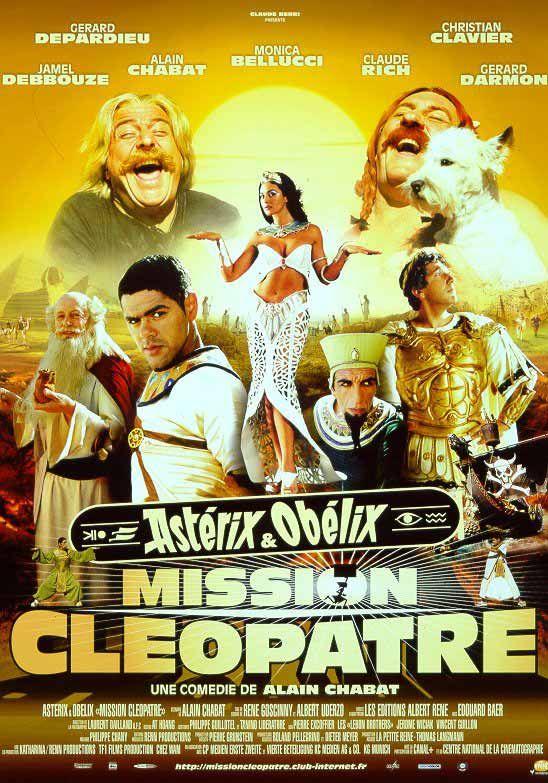 A voir: Astérix et Obélix : Mission Cléopâtre est un film de Alain Chabat avec Destin Lenord, Gérard Depardieu. Synopsis : Cléopâtre, la reine d'Égypte, décide, pour défier l'Empereur romain Jules César, d...