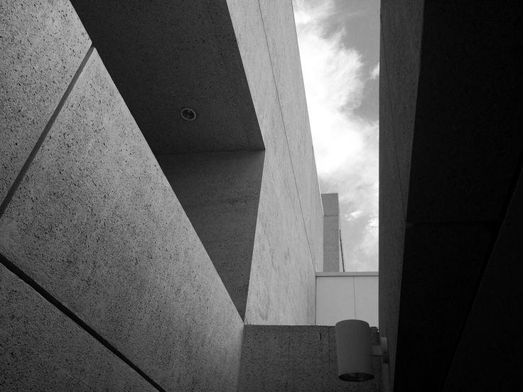 Brutalism in Australia: Queensland Art Gallery (QAG), Brisbane, by Robin Gibson, 1982