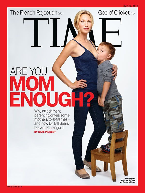 """TIME Magazine """"Are You Mom Enough?"""" Cover"""