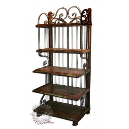 1000 id es propos de tag re en fer forg sur pinterest etagere fer forge equerre metal et. Black Bedroom Furniture Sets. Home Design Ideas