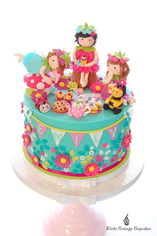 The 38 best images about Fairy cakes on Pinterest Tinkerbell