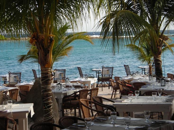 Flying Fishbone Aruba - one of the most unique restaurants I've seen.