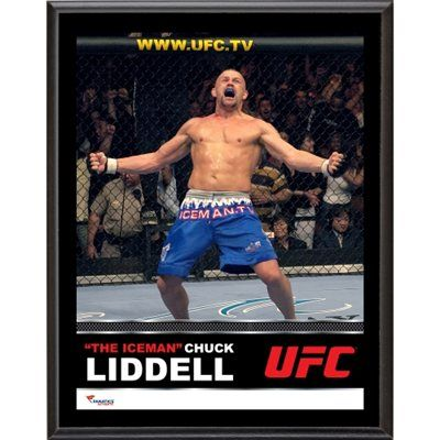 Chuck Liddell Ultimate Fighting Championship 10.5'' x 13'' Sublimated Plaque