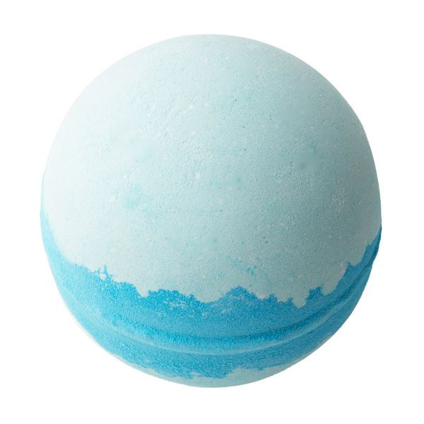 Frozen Bath Bomb: Enjoy the most magical soak in the kingdom with this shimmering blue bath bomb, which spills out rolling snowdrifts of silver luster.