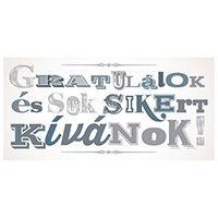 Gratulálok, sok sikert kívánok ZSEBES képeslap
