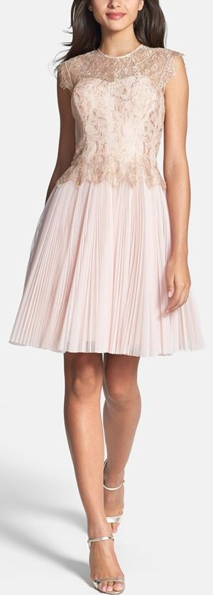 Lined and a little longer. So cute. Blush beauty by Ted Baker London