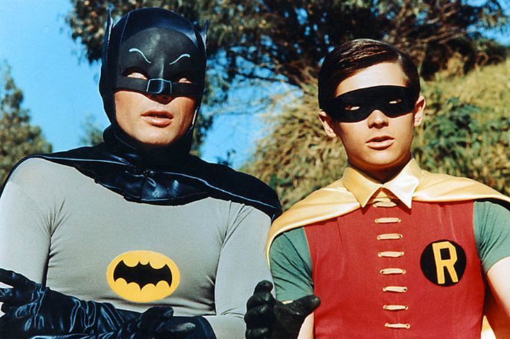 "'Batman'       Seasons: 1966 - 1968, plus one theatrical feature in 1966. Best known for: The awesome theme song, Adam West's delivery, and ""BIFF!"" ""BAM!"" ""WHAM!"""