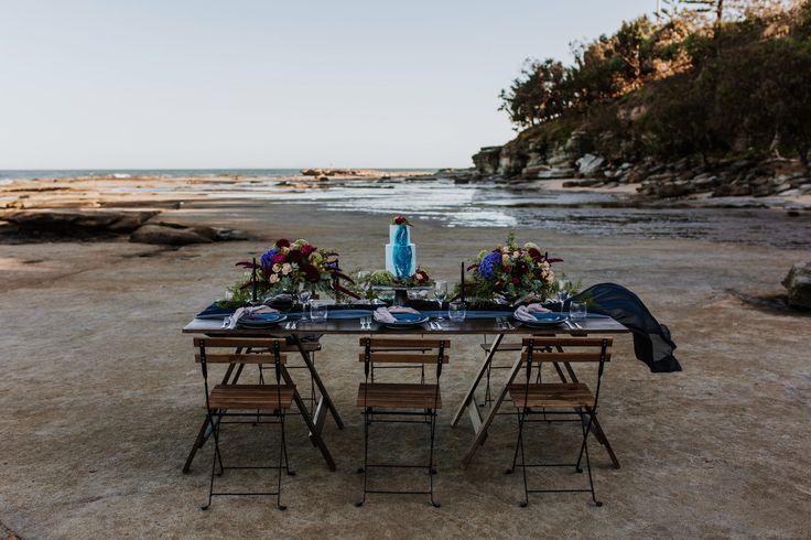 058 Jewel Toned Seaside Wedding Inspiration - Image 554970 - Polka Dot Bride