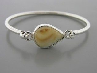 Elk Ivory Bracelet Sterling Silver. Something for Regan to do with with all his elk ivory