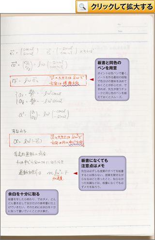 物理 まとめノート 東京大学 農学部 生命化学・工学専修4年 K・Kさん 神奈川県・浅野高校卒