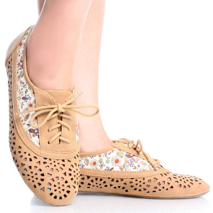 Womens Oxford Shoes Tapestry
