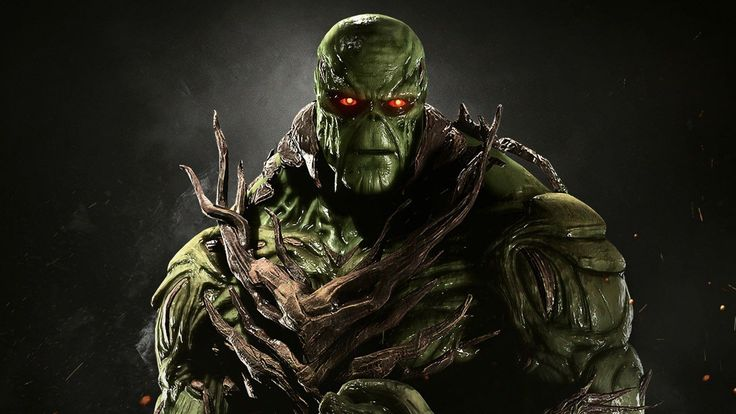 New Injustice 2 Gameplay Trailer Is all About Swamp Thing and His Grapples