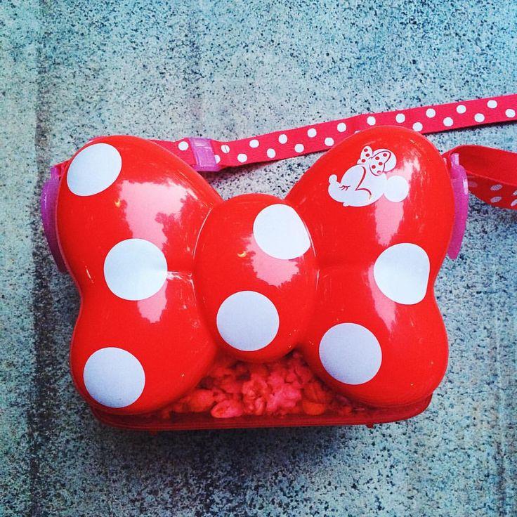 Minnie bow popcorn bucket - Tokyo Disney Resort