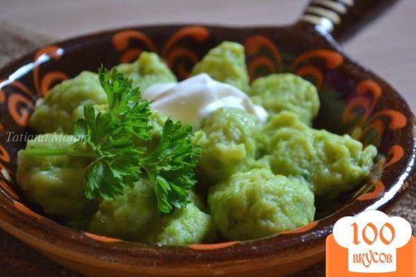 Фото рецепта: «Горохово-картофельные клецки»