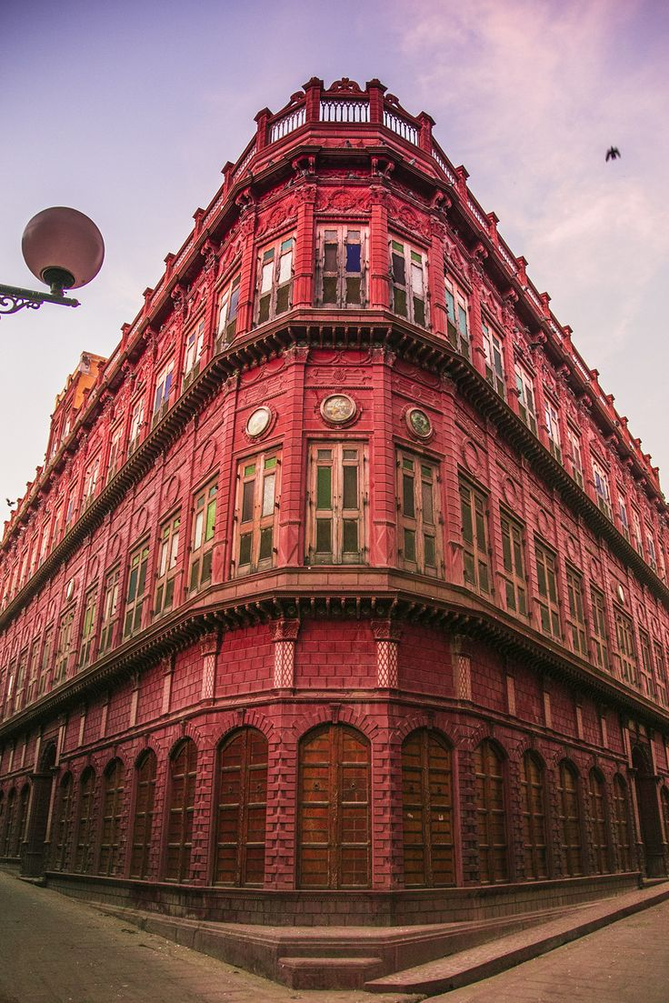 Old houses of Bikaner in Rajasthan, India