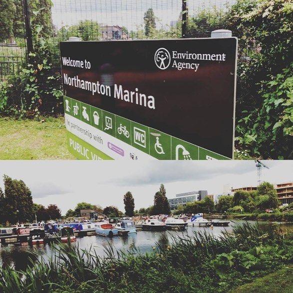 Northampton Marina, a stones-throw from Waterside!