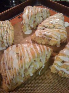 Starbucks Cinnamon chip Scones-made these last night-so yummy! (found Hershey Cinnamon Chips at Winco this weekend on Sale)