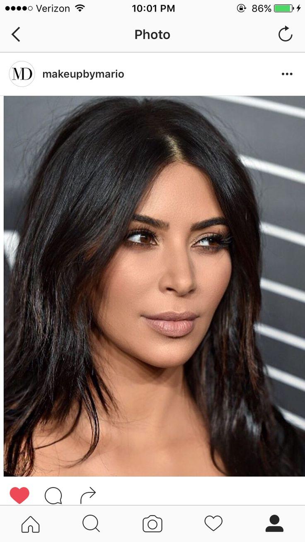 Kim kardashian smokey eye, #Eye #Kardashian #Kim # ...