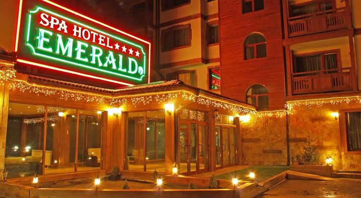 Emerald Hotel & Spa - Ultra Half Board Bansko Emerald Spa Hotel is situated at the foothills of the Pirin Mountains, a 1-minute walk to the gondola lift. It provides free access to the sauna, steam bath, hot tub, indoor pool and fitness area.