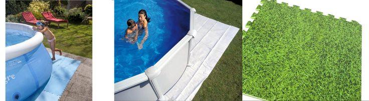Buongiorno amici, vi daremo qualche consiglo pratico per prolungare la vita del liner della nostra piscina fuori terra. La prima cosa che bisogna avere in conto è il fatto che la superficie su cui l'installeremo deve essere totalmente pulita e liscia. È molto importante mettere un tappetino sotto la nostra piscina. I tappeti per piscine sono molto economici e ci sono diversi modelli da scegliere. Cliccate qui per ulteriori dettagli: