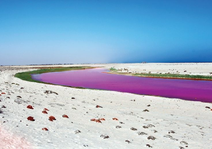 If you're heading south, don't miss the #Pink #Beach The #southern parts…