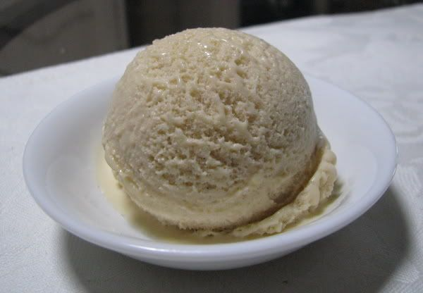 Salted caramel icecream in the thermomix