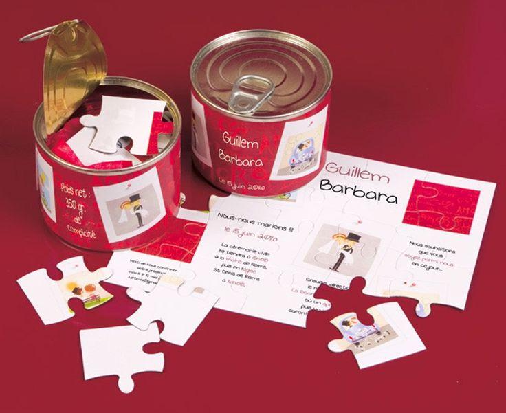 faire part mariage puzzle gratuit with photo puzzle pas cher. Black Bedroom Furniture Sets. Home Design Ideas