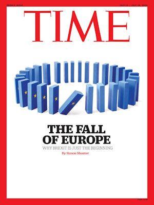 TIME Magazine editie Europa: TIME Magazine is het grootste opinie- en nieuwsweekblad met vier verschillende edities wereldwijd. Voor Nederland is dit TIME Europe welke meer op belangrijke Europese issues focust dan zijn grote Amerikaanse broer.