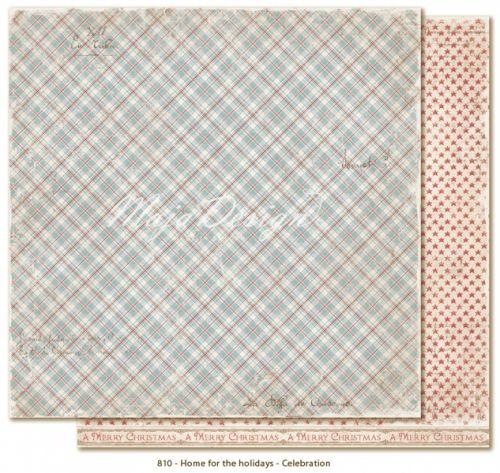 "MAJA DESIGN - HOME FOR THE HOLIDAYS 810 - CELEBRATIONTo-sidig mønsterark i høy kvalitet fraMAJA DESIGN - HOME FOR THE HOLIDAYS KOLLEKSJON.Størrelse 30,5 x 30,5 cm (12 x12 inches). MAJA DESIGN - HOME FOR THE HOLIDAYS COLLECTIONDouble-sided - patterned - heavyweight paper. 12x12"" - acid & lignin free."