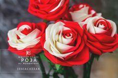 """Мастер-класс """"Роза из фоамирана"""" Пошаговый фото мастер-класс по созданию двухцветной розы из фоамирана. Мастер-класс в формате PDF. Стоимость 50 руб."""