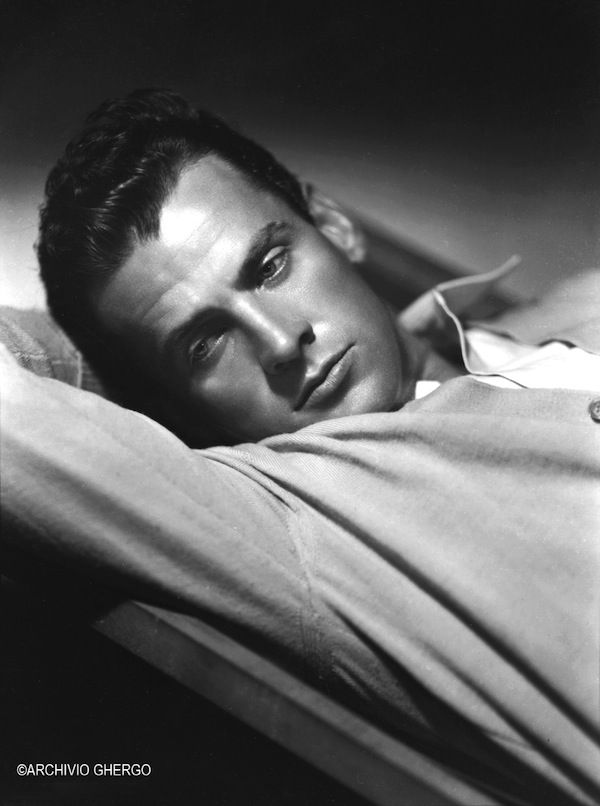 Arturo Ghergo - Massimo Girotti, Rome 1942