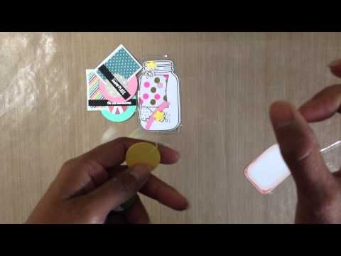 Pocket letter embellishments - YouTube