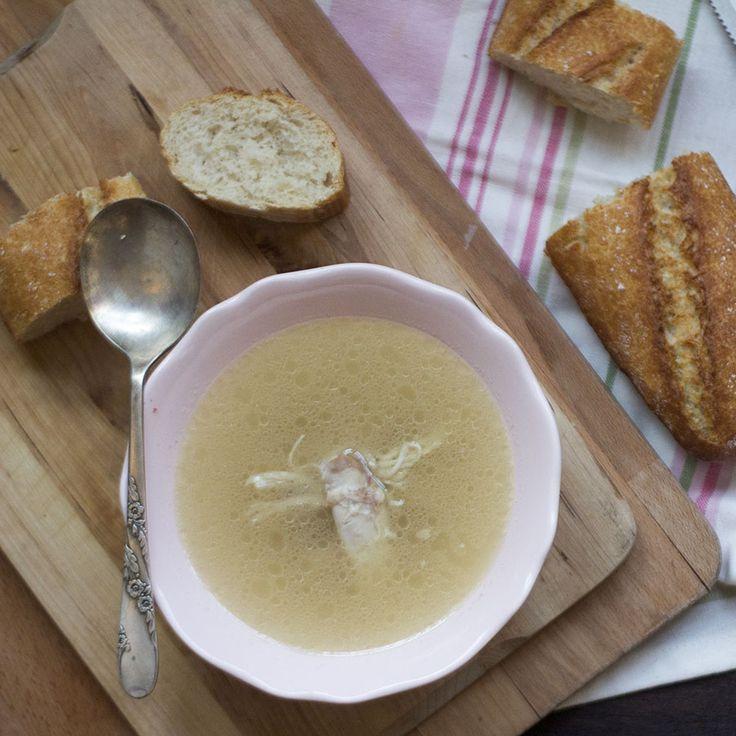 Cómo preparar caldo de pollo casero con Thermomix « Trucos de cocina Thermomix