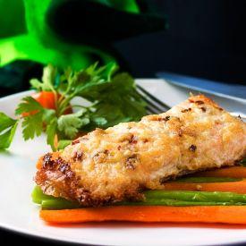 Parmesan Garlic Salmon [Planestoplates]
