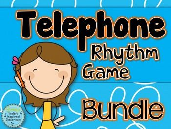 Telephone Rhythms {A Bundle of Rhythm Games}