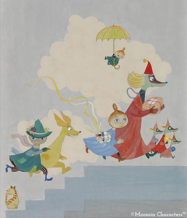 Moomin murals at the Aurora Children's Hospital - Moomin : Moomin
