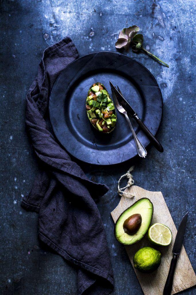 die besten 25 lachstatar mit avocado ideen auf pinterest. Black Bedroom Furniture Sets. Home Design Ideas