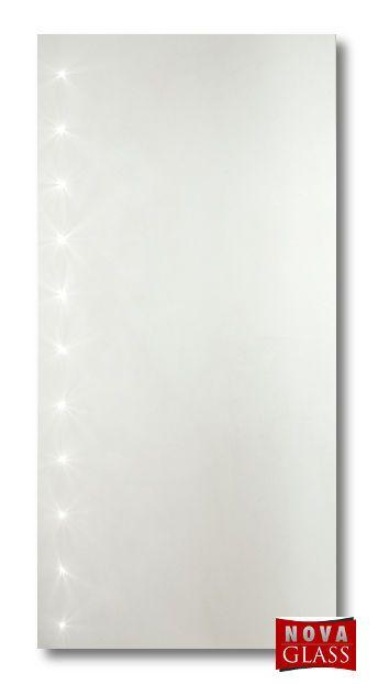Καθρέπτης μπάνιου φωτιζόμενος από αριστερά με led Νο 268