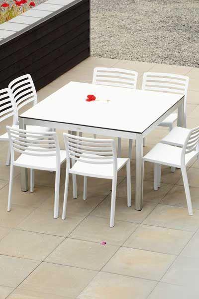 jan kurtz tisch quadrat gartenm bel outdoor m bel. Black Bedroom Furniture Sets. Home Design Ideas