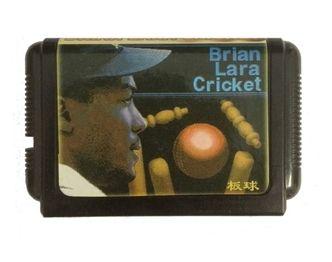 Sega 16bit MD карточные игры: Брайан Лара Крикет 16 бит Sega MegaDrive Genesis игровой консоли