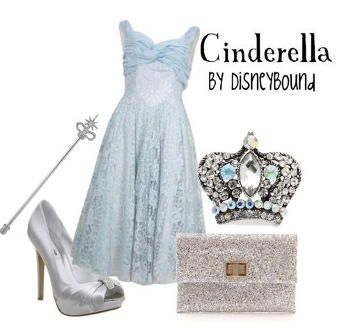 If the shoe fits....: Disney Style, Disney Princesses, Disney Outfit, Cinderella Outfit, Inspiration Outfit, Disneybound, Disney Bound, The Dresses, Cinderella Inspiration
