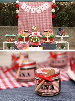 >Pic Nic no Jardim por Mog & Mug - Baby Guide Festa Infantil