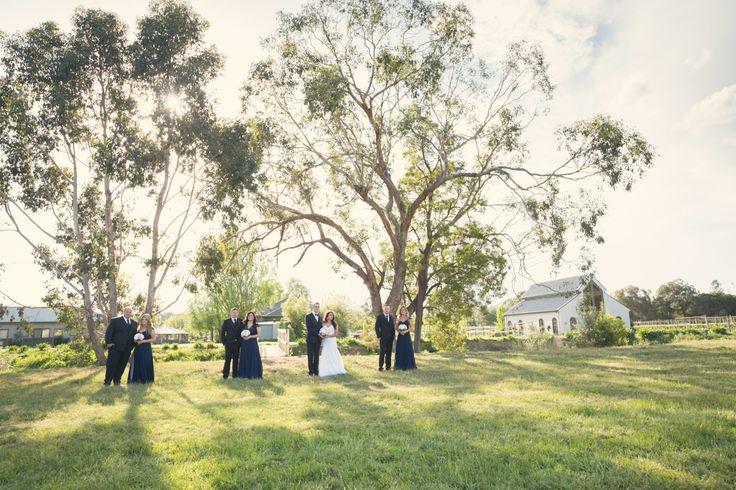 Vinenyard/garden wedding
