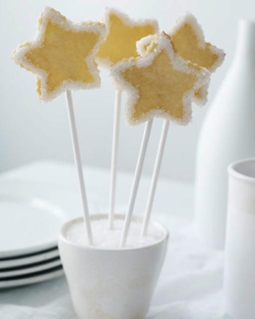 Sweet Paul's Maple Syrup Star Cookies