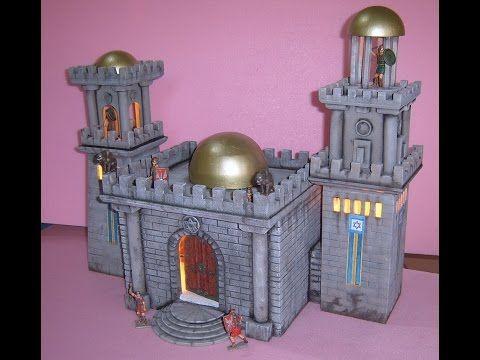 palacio de herodes para belenes - Buscar con Google