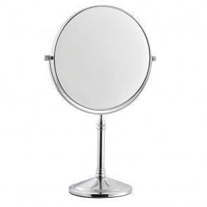 [en.casa]® Specchio cosmetico girevole 360° argento 25,80 €