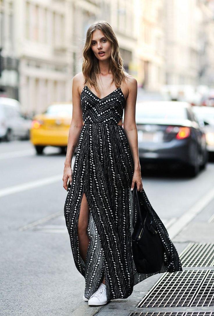 Lange und bequeme Kleidung in diesem Sommer # Sommerkleidung #lookbook Sommer # Sommerkleidung