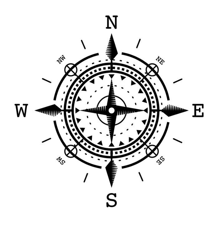 25 melhores ideias de compass bussola no pinterest for Bussola tattoo significato