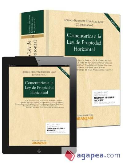 Comentarios a la Ley de propiedad horizontal / Rodrigo Bercovitz Rodríguez-Cano (coordinador). - 5ª ed. - 2014