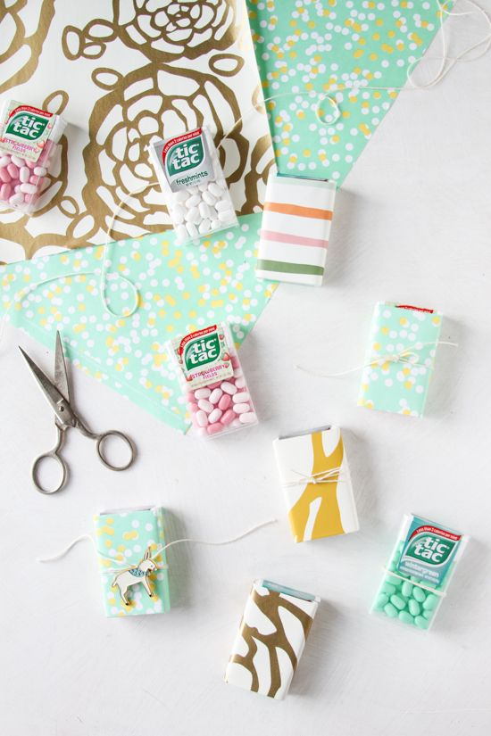 DIY Wrapped Wedding + Party Favors